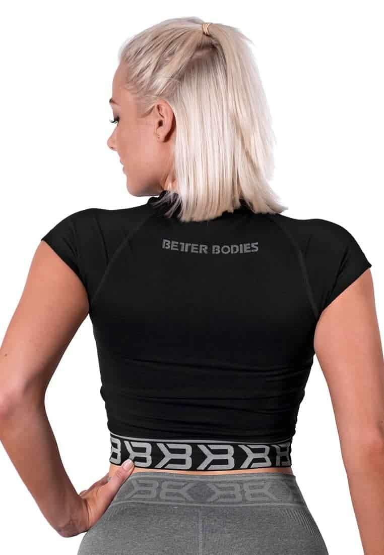 koszulka-bezszwowa-treningowa-czarna