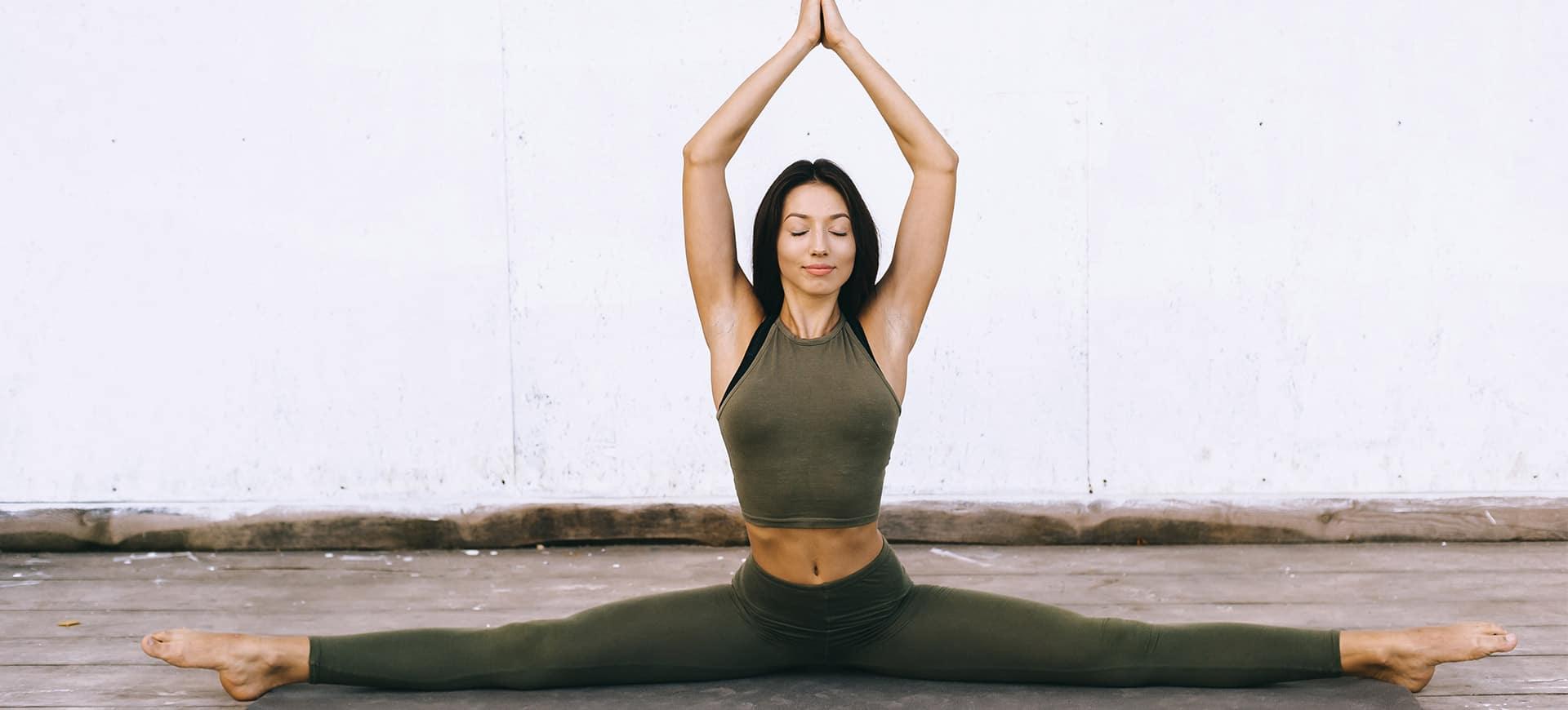 Wygodne legginsy do jogi