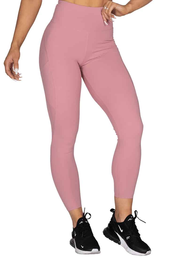 legginsy-z-kieszeniami-wysoki-stan-rozowe
