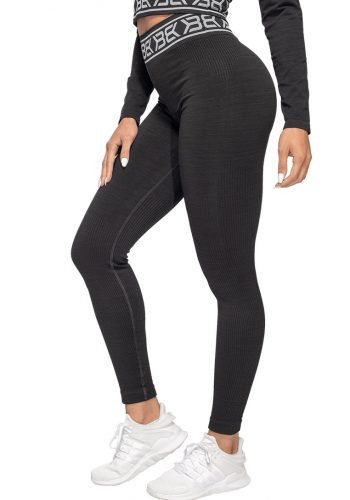 Rib-Seamless-Leggings-Black-Melange