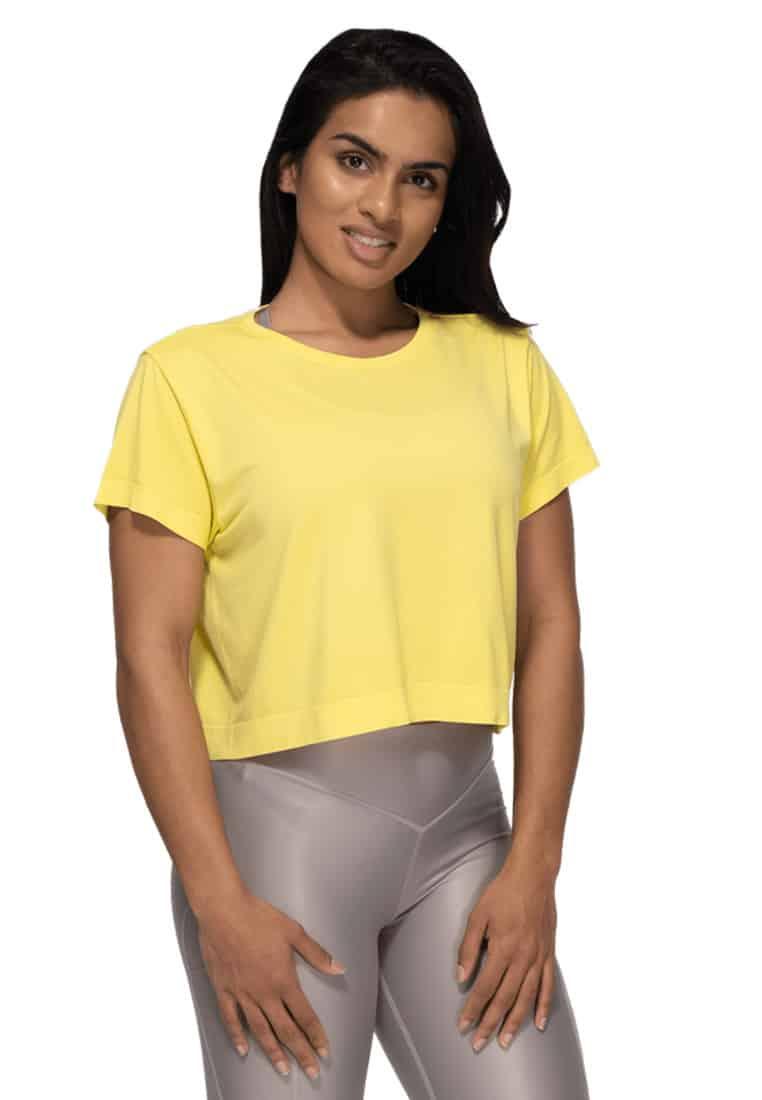 koszulka-damska-zolta-lozna