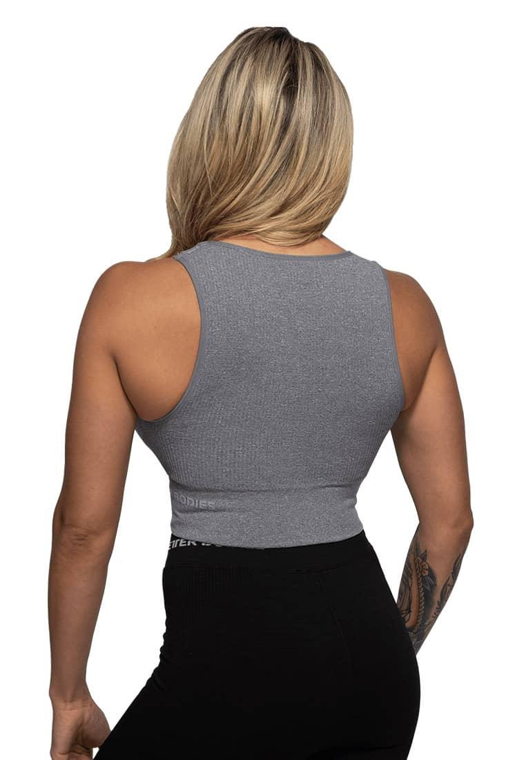 koszulka-na-siłownię-szara